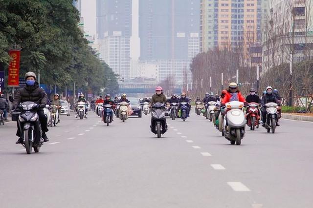 Ngắm đường 10 làn xe đẹp nhất Việt Nam tại Hà Nội - Ảnh 2.