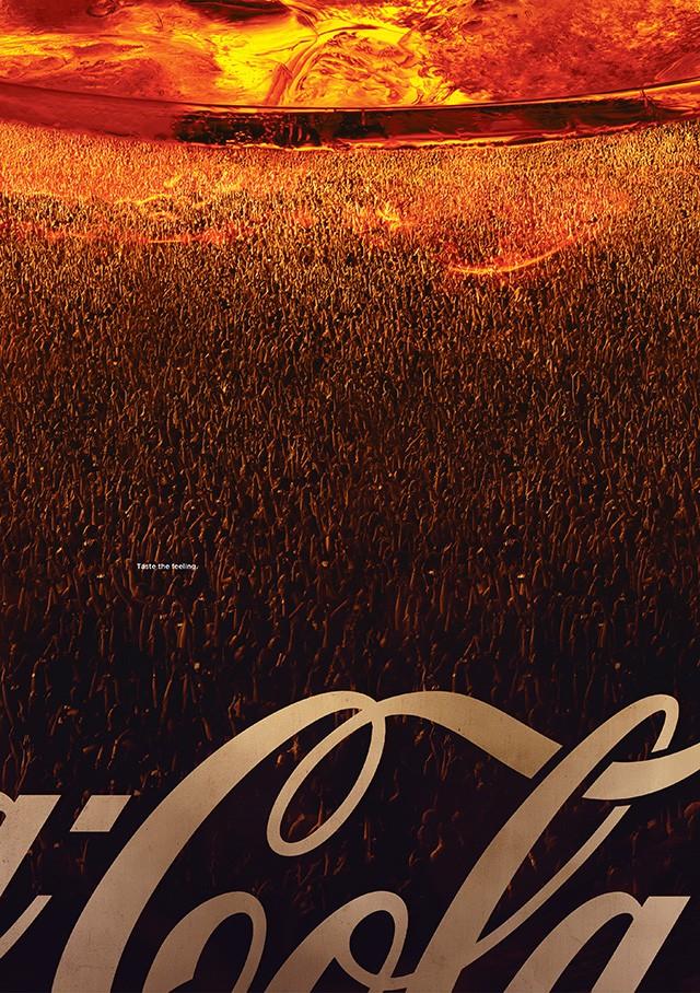 Soi kỹ một số print ads này đi, có phải Coca-Cola đang biến khách hàng thành... bọt gas? - Ảnh 3.