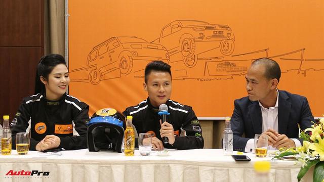 Vì sao tiền vệ U23 Quang Hải và Hoa hậu Ngọc Hân tham gia giải đua xe địa hình Việt Nam? - Ảnh 1.