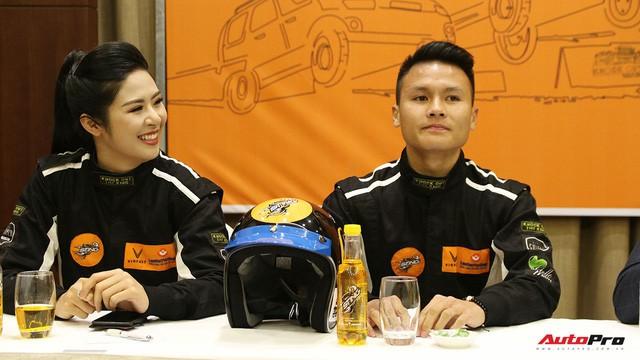 Vì sao tiền vệ U23 Quang Hải và Hoa hậu Ngọc Hân tham gia giải đua xe địa hình Việt Nam? - Ảnh 4.