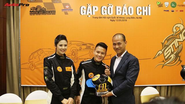 Vì sao tiền vệ U23 Quang Hải và Hoa hậu Ngọc Hân tham gia giải đua xe địa hình Việt Nam? - Ảnh 7.