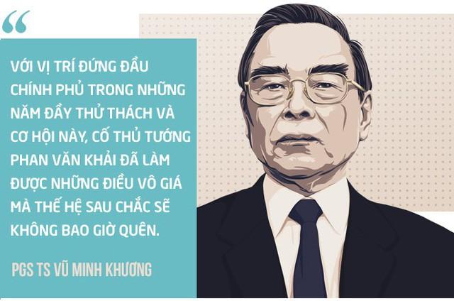 Ba bài học lớn từ cố Thủ tướng Phan Văn Khải của PGS Vũ Minh Khương - Ảnh 3.
