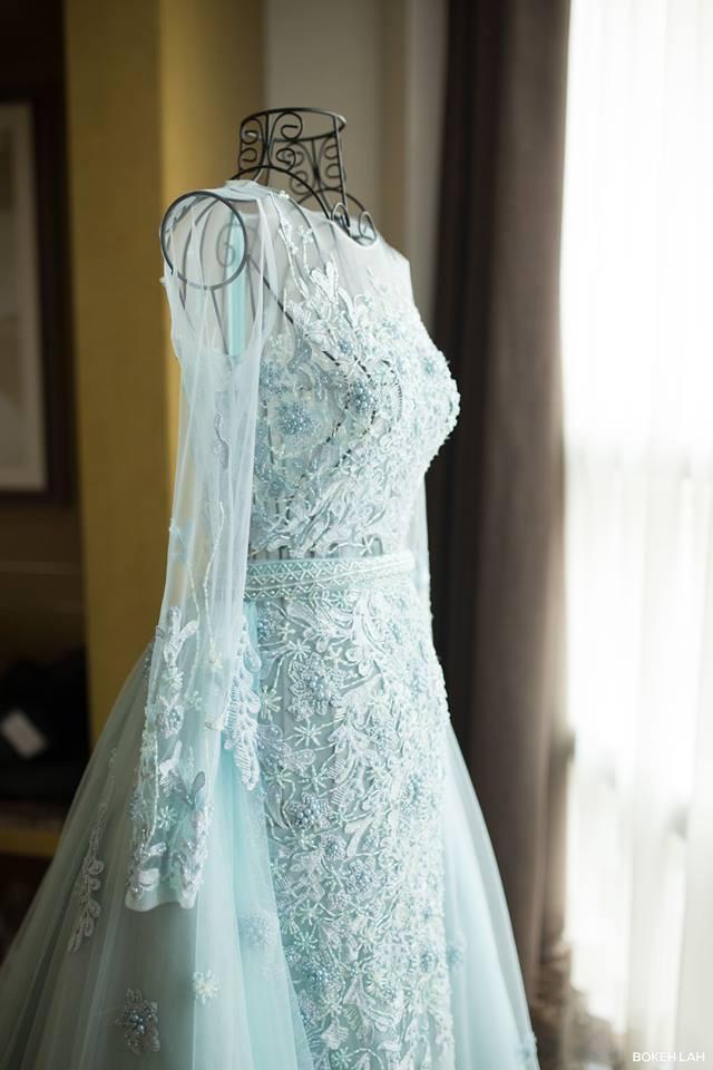Cận cảnh đám cưới kỳ công xanh màu đại dương của Shark Hưng và cô dâu Á hậu - Ảnh 36.