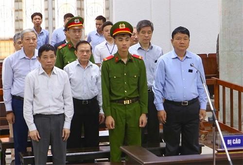 Hôm nay tuyên án ông Đinh La Thăng và 6 đồng phạm - Ảnh 1.