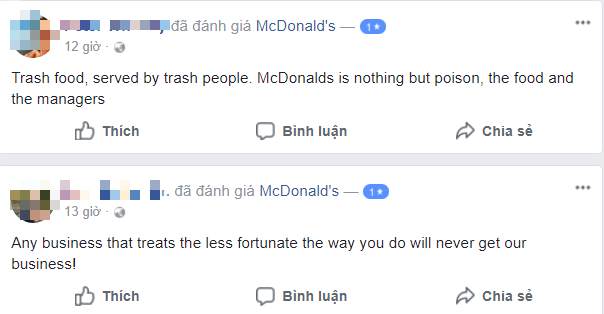 Sau bê bối đuổi khách, McDonalds nhận cơn mưa gạch đá từ netizen Việt Nam, có người còn tranh thủ phẫn nộ để bán sim - Ảnh 5.