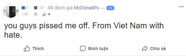 Sau bê bối đuổi khách, McDonalds nhận cơn mưa gạch đá từ netizen Việt Nam, có người còn tranh thủ phẫn nộ để bán sim - Ảnh 7.