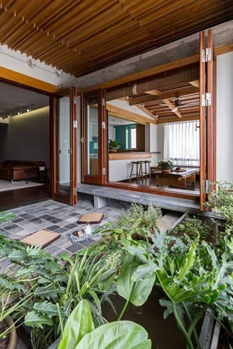 Căn hộ chung cư tràn ngập không gian xanh giữa Thủ đô - Ảnh 12.