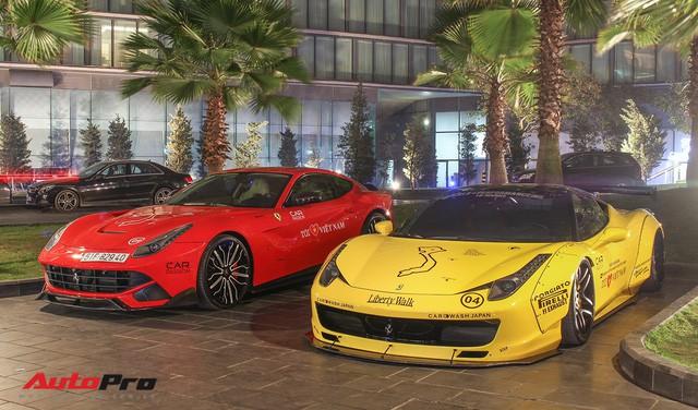 Ảnh đẹp dàn siêu xe Car & Passion dưới ánh đèn đêm Hà Nội - Ảnh 5.