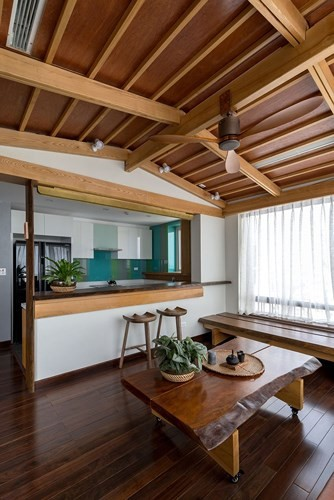 Căn hộ chung cư tràn ngập không gian xanh giữa Thủ đô - Ảnh 7.