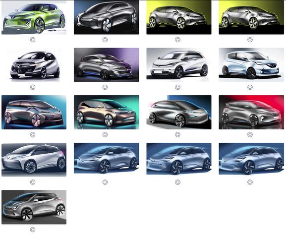 Sau Sedan và SUV, VINFAST công bố 36 mẫu thiết kế cho ô tô dòng xe điện và xe cỡ nhỏ - Ảnh 1.