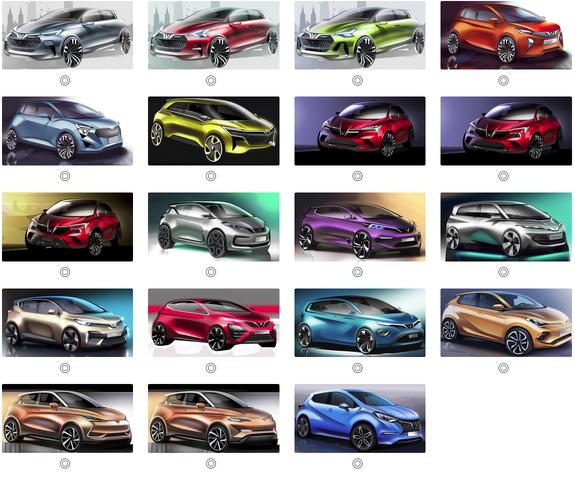 Sau Sedan và SUV, VINFAST công bố 36 mẫu thiết kế cho ô tô dòng xe điện và xe cỡ nhỏ - Ảnh 2.