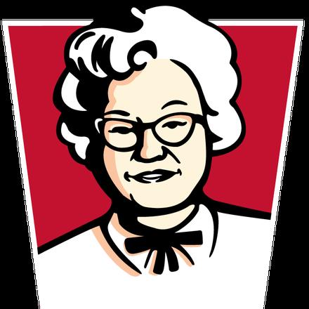 Ngày 8/3 của giới fastfood: Khi McDonald's lật ngược logo để tôn vinh phụ nữ thì KFC mạnh tay thay logo bằng hình vợ người sáng lập - Ảnh 1.