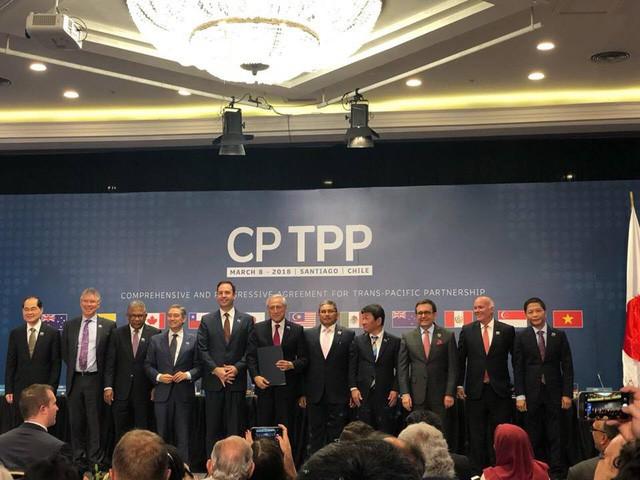 Chính thức ký kết CPTPP: 11 Bộ trưởng phụ trách kinh tế trao đổi những gì ở Chile? - Ảnh 4.