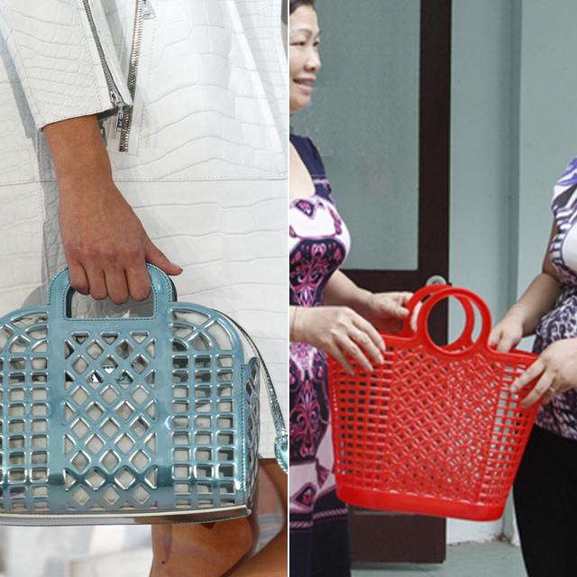 Những chiếc túi xách gây chấn động làng thời trang: Khi đồ gia dụng hàng ngày lột xác thành hàng hiệu với mức giá trên trời - Ảnh 1.