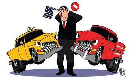 Những chiến tướng mạnh nhất ngành taxi truyền thống như Vinasun và Mai Linh đã ở đâu khi 2 kẻ ngoại quốc Uber & Grab về chung một nhà? - Ảnh 1.