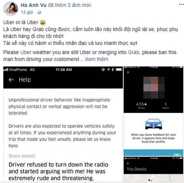 Uber liên tục bị phàn nàn trong những ngày cuối cùng trước khi sáp nhập Grab: Hủy chuyến, không cần khách, chỉ nhận tiền mặt! - Ảnh 6.