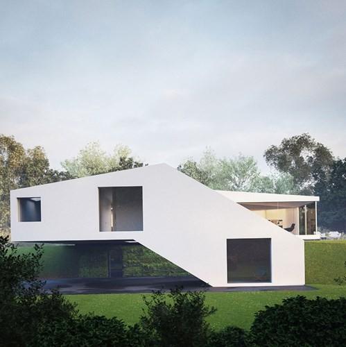 Ngôi nhà nằm trên dốc khiến ai nhìn thấy cũng phải trầm trồ - Ảnh 2.