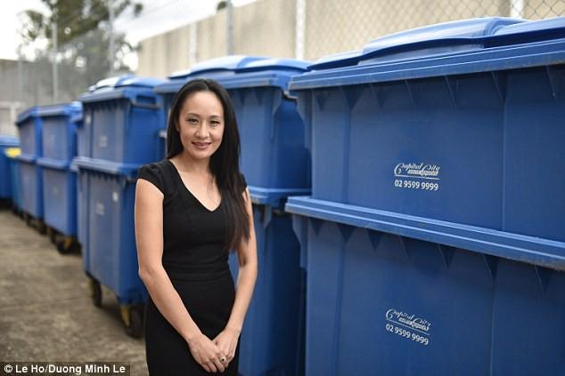 Cô gái gốc Việt vượt qua kỳ thị trở thành bà chủ đế chế rác 10 triệu USD - Ảnh 3.