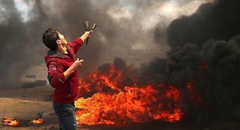 """Hội đồng Bảo an LHQ biến thành """"chảo lửa"""" vì tình trạng bạo lực ở Gaza - Ảnh 1."""