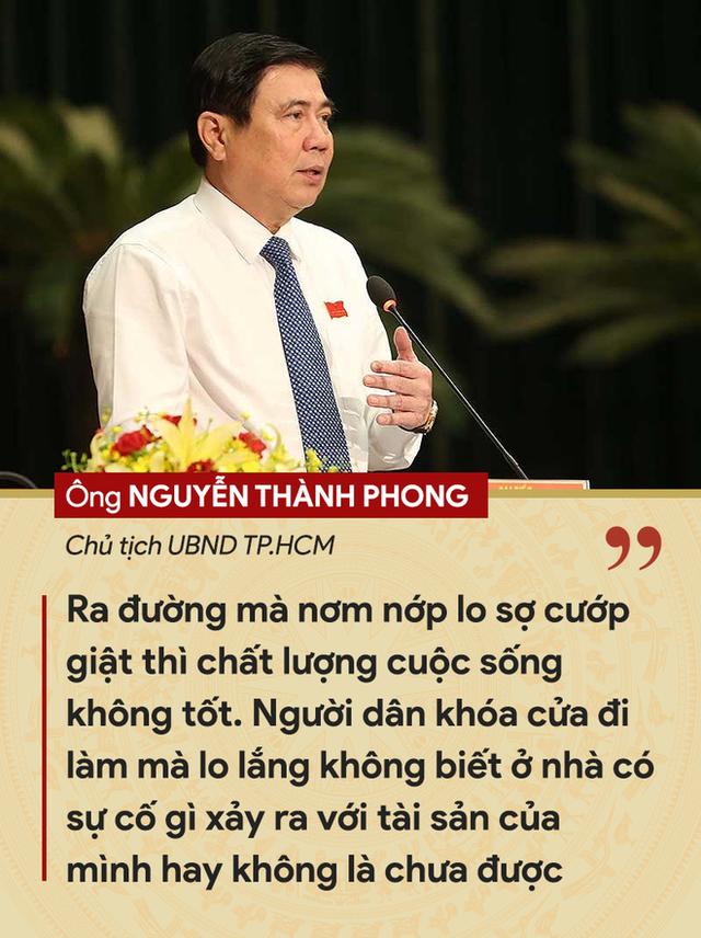 Những tuyên bố đanh thép của lãnh đạo về tội phạm cướp giật ở TP.HCM - Ảnh 3.