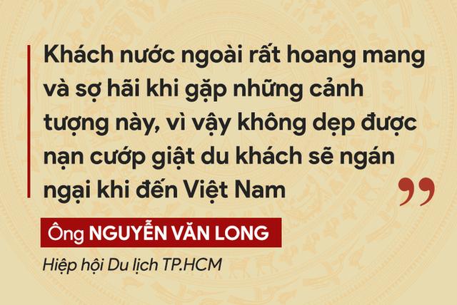 Những tuyên bố đanh thép của lãnh đạo về tội phạm cướp giật ở TP.HCM - Ảnh 8.
