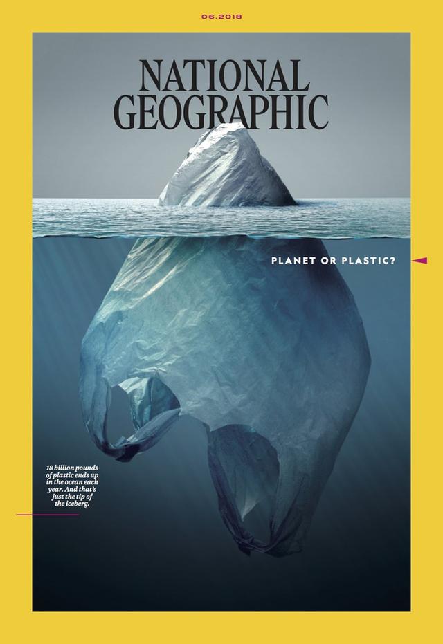 Bìa tạp chí với chủ đề rác thải nhựa của Nat Geo quá đỗi tuyệt vời, khiến Internet không ngừng nhắc đến nó - Ảnh 3.