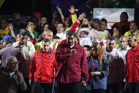 Tổng thống Venezuela Maduro tái đắc cử, Mỹ tuyên bố không công nhận - Ảnh 1.