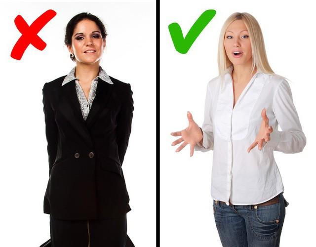 """Những sai lầm không ngờ về ngôn ngữ cơ thể khiến bạn """"mất điểm"""" trước sếp, dù cố gắng cỡ nào cũng khó thăng tiến trong công việc - Ảnh 9."""