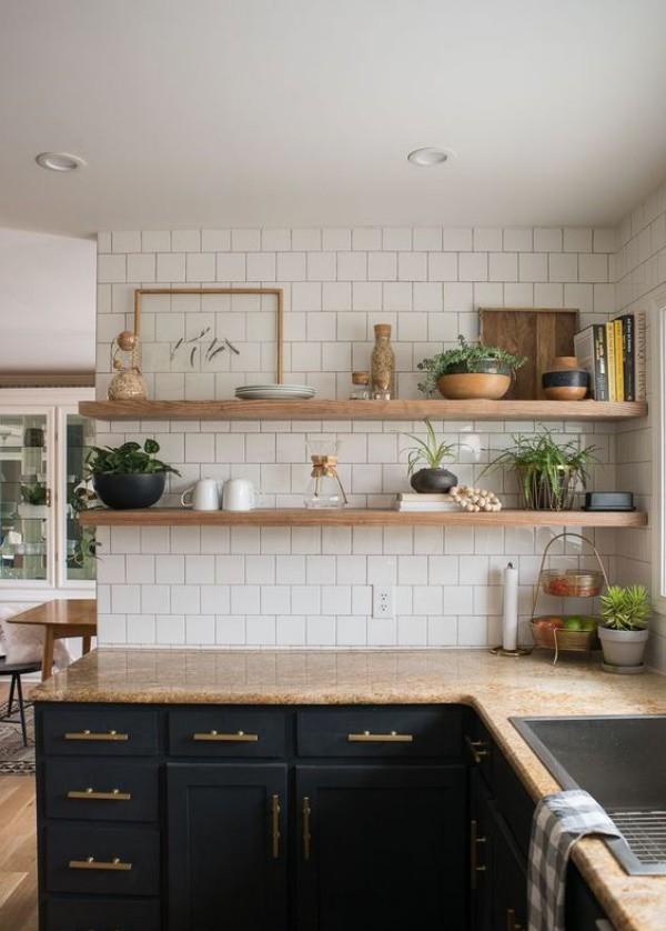 Những ý tưởng dùng kệ để tạo góc lưu trữ cực đẹp và hữu ích cho nhà nhỏ - Ảnh 18.