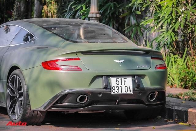 Ông chủ cafe Trung Nguyên phá cách với Aston Martin Vanquish hàng hiếm màu lạ - Ảnh 1.