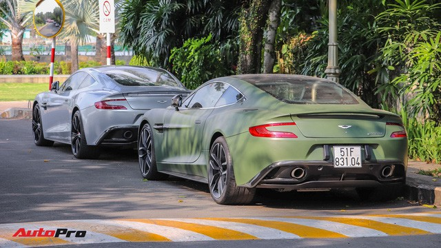Ông chủ cafe Trung Nguyên phá cách với Aston Martin Vanquish hàng hiếm màu lạ - Ảnh 2.