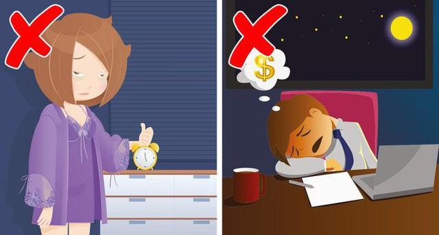 6 sai lầm trước khi ngủ khiến chúng ta tăng cân vào ban đêm - Ảnh 4.