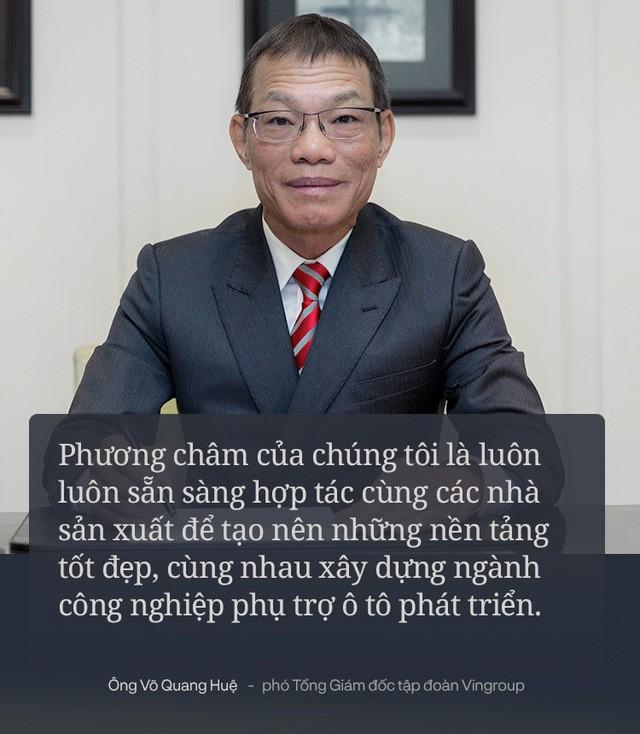 Chiến tướng VINFAST giải thích mhữngh làm xế hộp thương hiệu Việt - Ảnh 2.