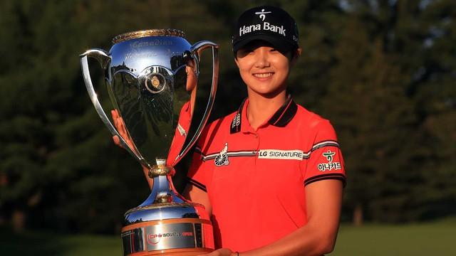 Nữ hoàng mới của làng golf thế giới Park Sung Huyn: Bóng hồng xinh đẹp, tài năng với phong cách lạnh lùng và thành tích đáng nể  - Ảnh 1.