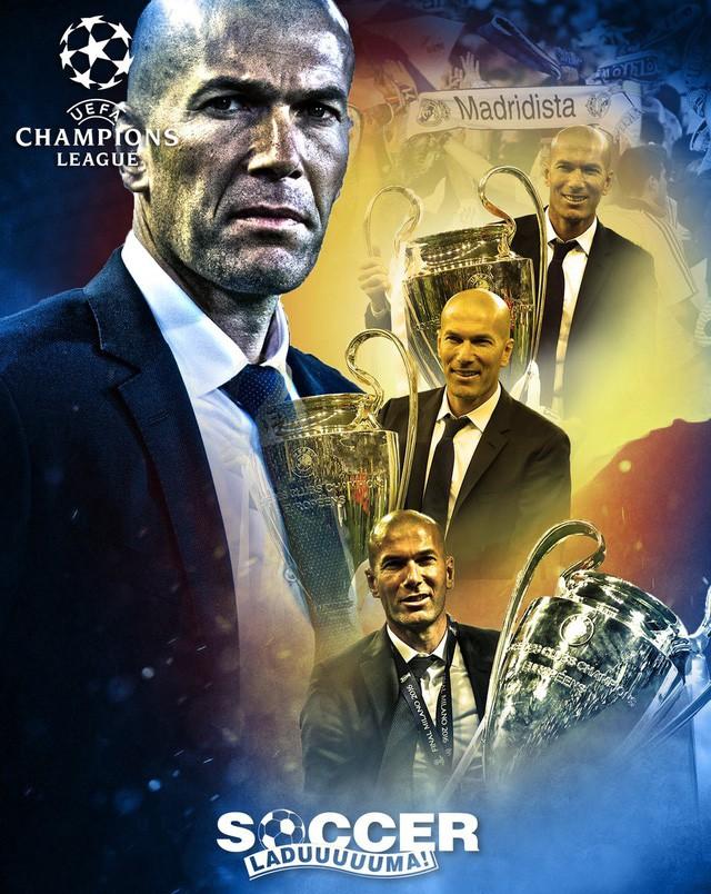 Những thành tích kỷ lục của dị nhân Zidane khiến cả thế giới thán phục - Ảnh 4.