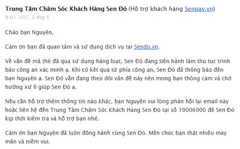 Khách tố hàng ngàn thẻ nạp tiền mua từ Sendo.vn bị mất 300 triệu đồng - Ảnh 1.