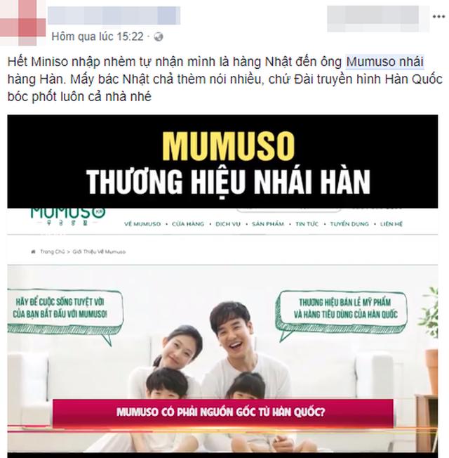 Đại diện Mumuso lên tiếng sau khi truyền thông Hàn nghi ngờ thương hiệu này đang lừa dối người tiêu dùng Việt - Ảnh 3.