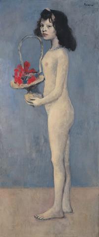 Bức tranh thiếu nữ khỏa thân của danh họa Picasso vừa được bán với giá hơn 100 triệu USD - Ảnh 1.