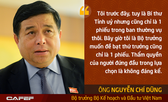 Bộ trưởng Kế hoạch và Đầu tư: Tôi là Bộ trưởng muốn đề bạt thứ trưởng cũng chỉ là 1 phiếu - Ảnh 9.