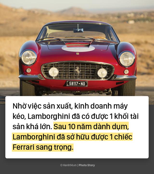 Ông chủ Lamborghini thành lập hãng xe xế hộp chỉ vì... tự ái với Ferrari - Ảnh 3.