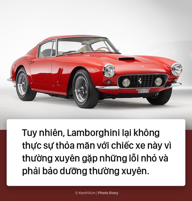Ông chủ Lamborghini thành lập hãng xe xế hộp chỉ vì... tự ái với Ferrari - Ảnh 4.