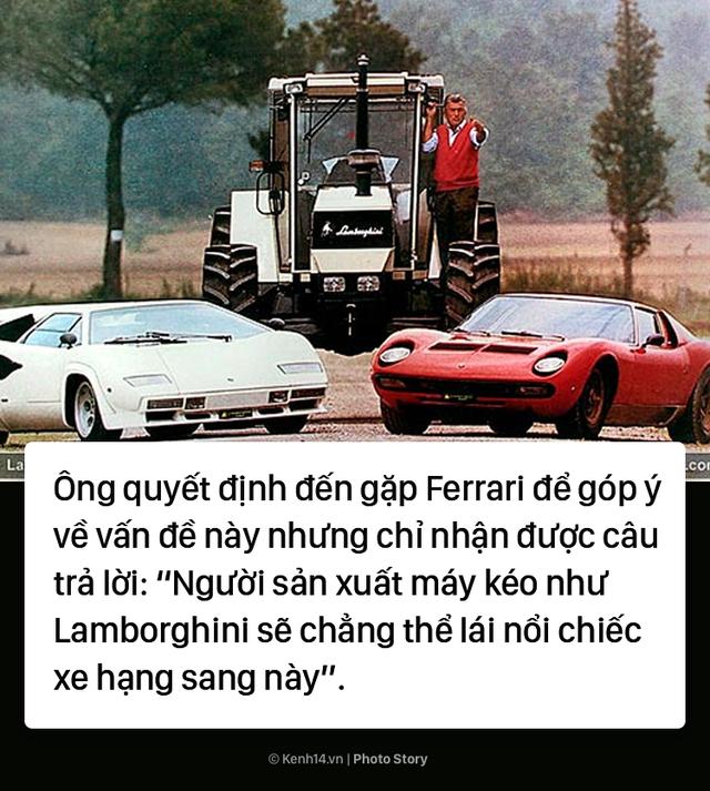 Ông chủ Lamborghini thành lập hãng xe xế hộp chỉ vì... tự ái với Ferrari - Ảnh 5.