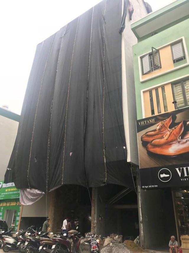 Quận trung tâm Hà Nội bùng phát nhà sai phép kiểu mới - Ảnh 1.