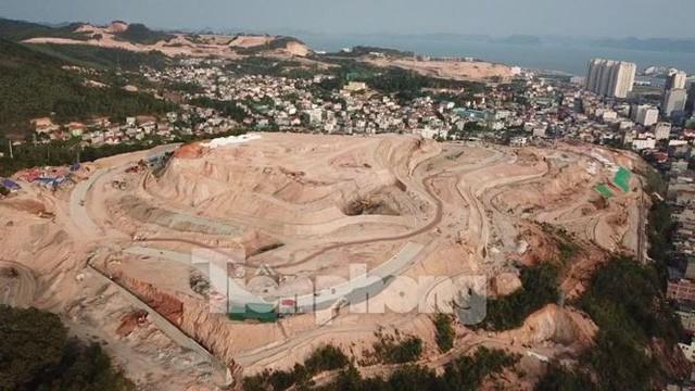 Tận thấy những ngọn đồi trọc đầu vì dự án ở Hạ Long - Ảnh 5.