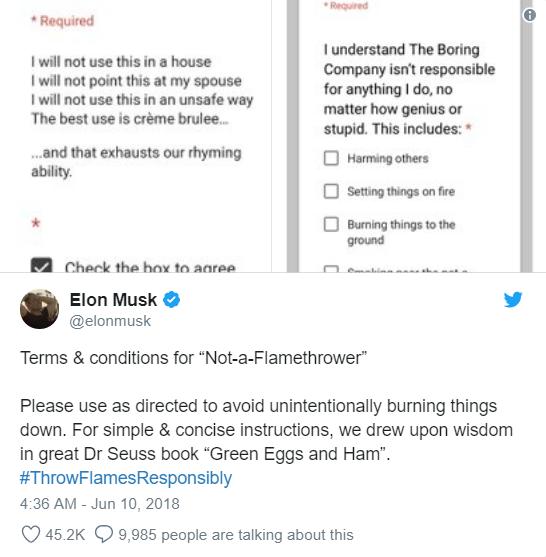Vừa suýt khóc tại cuộc họp cổ đông, Elon Musk đã phấn khởi đăng tweet về việc bán được 1000 súng phun lửa - Ảnh 7.