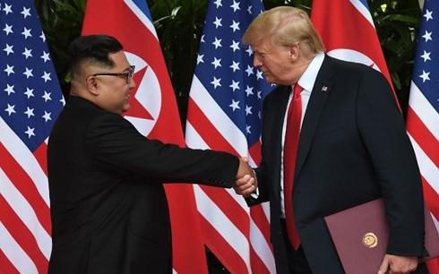 Toàn văn tuyên bố chung lịch sử Tổng thống Mỹ và Lãnh đạo Triều Tiên - Ảnh 1.