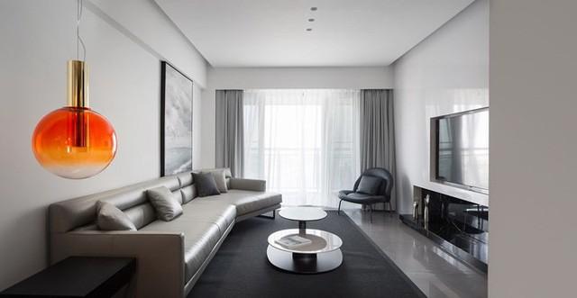 Căn hộ màu trắng thiết kế đơn giản và tinh tế - Ảnh 1.