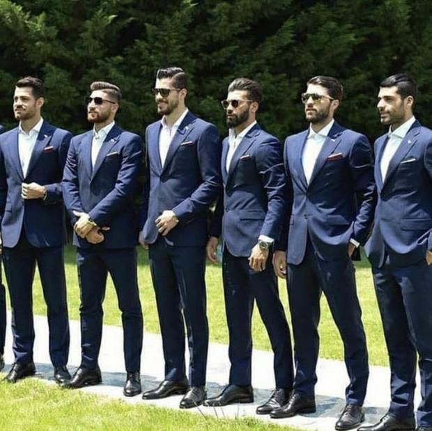 Dàn tuyển thủ Iran như người mẫu này đang gây sốt ở World Cup 2018 - Ảnh 4.