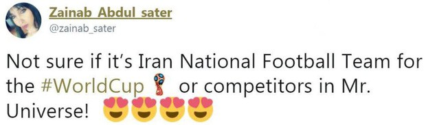 Dàn tuyển thủ Iran như người mẫu này đang gây sốt ở World Cup 2018 - Ảnh 7.