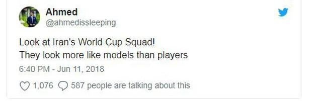 Dàn tuyển thủ Iran như người mẫu này đang gây sốt ở World Cup 2018 - Ảnh 9.